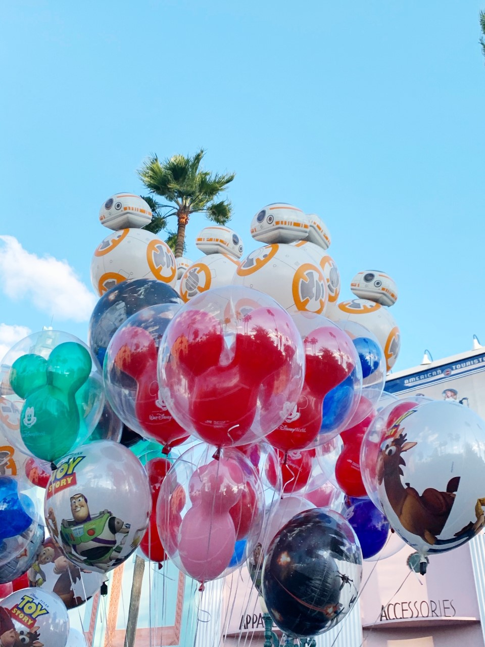 Disney World Hollywood Studios BB8 Balloon