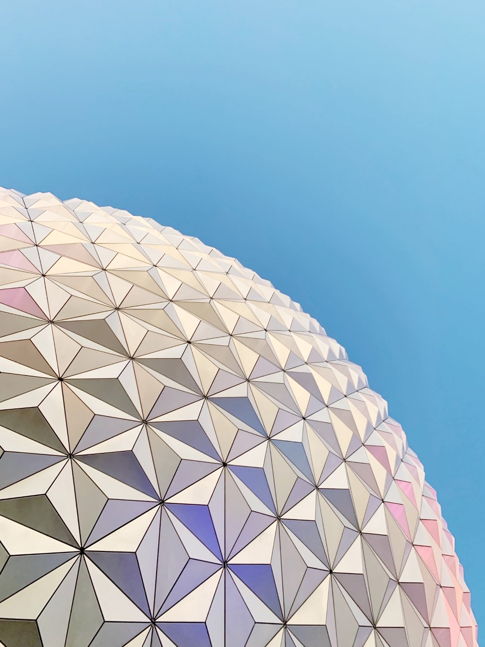 Epcot Spaceship Earth Purple