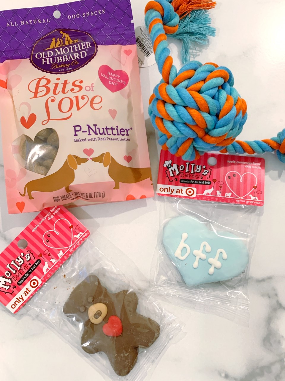 Dog treats from Target