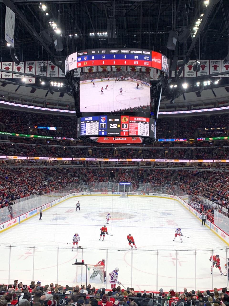 Chicago Blackhawks United Center