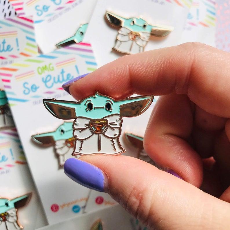 Baby Yoda Merchandise Baby Yoda Pin
