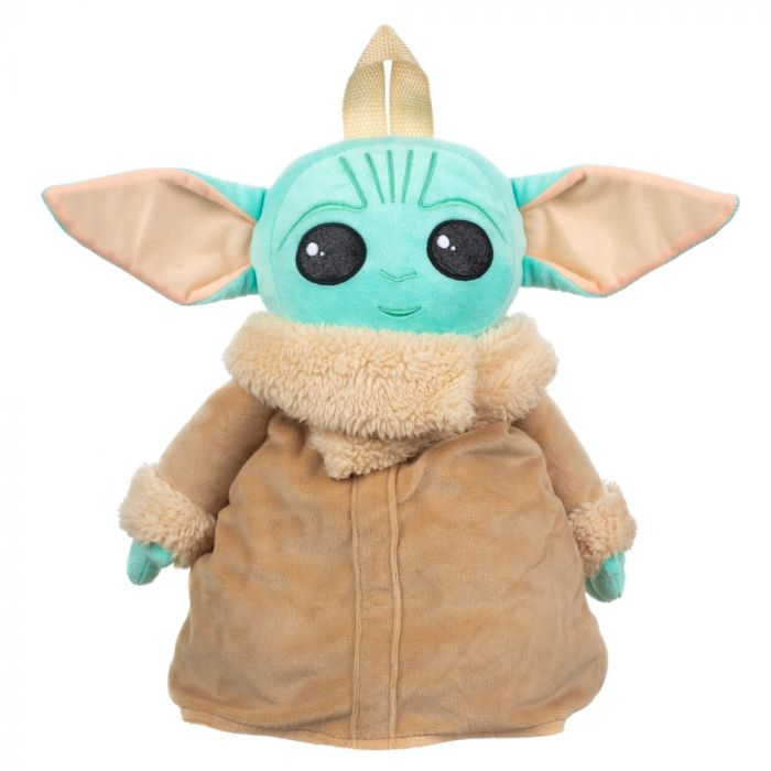 Baby Yoda plush backpack