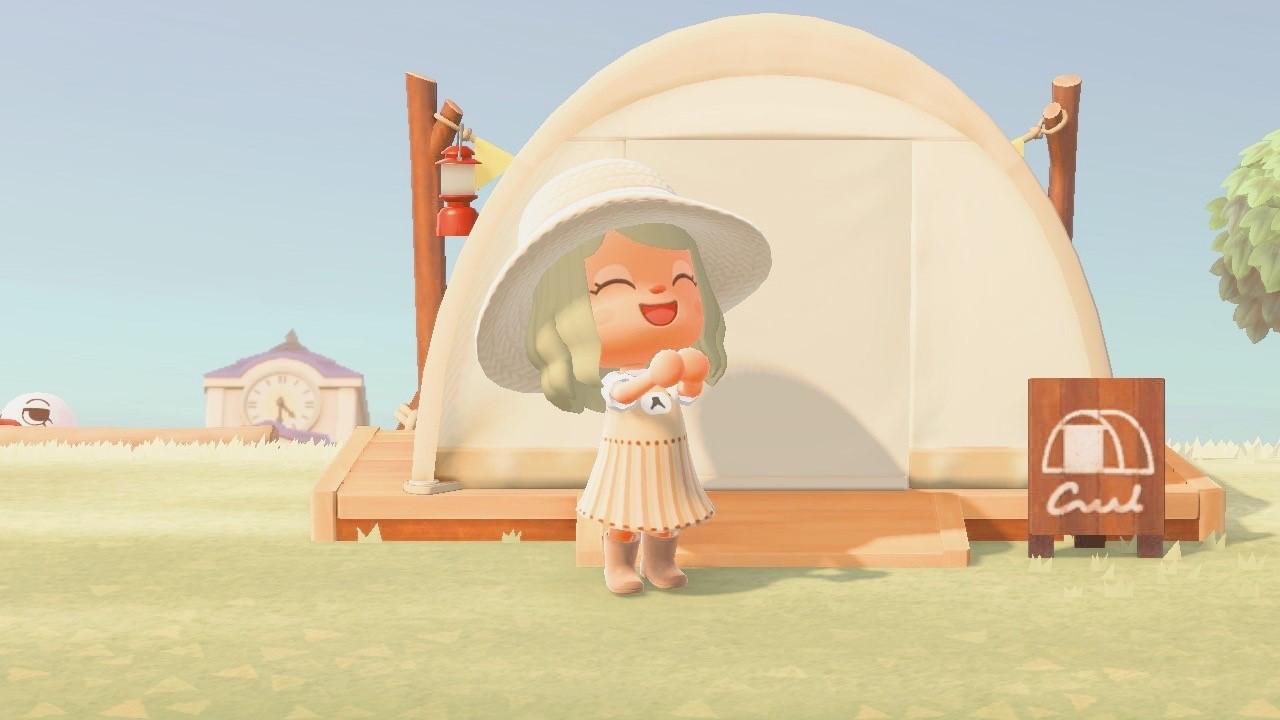 Animal Crossing: New Horizons Campsite