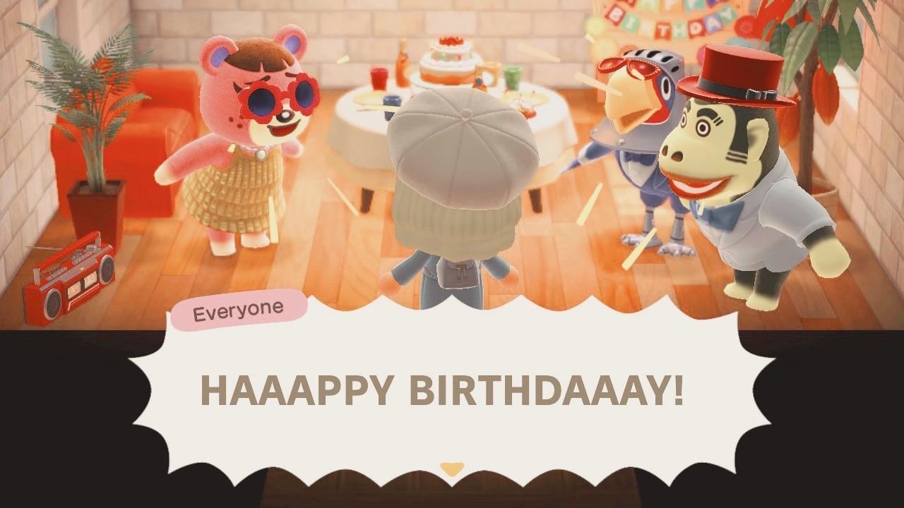 Animal Crossing: New Horizons Birthday Party