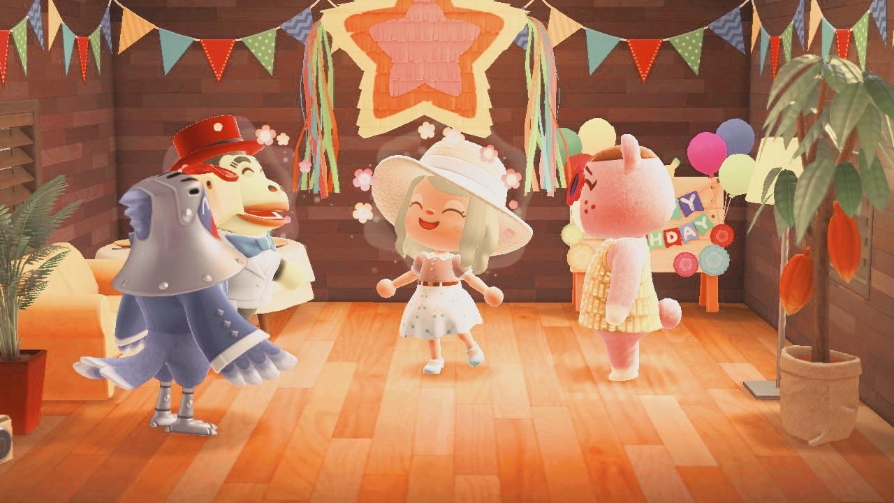 Animal Crossing: New Horizons Birthday Party