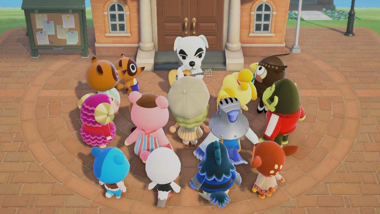 Animal Crossing: New Horizons KK Slider