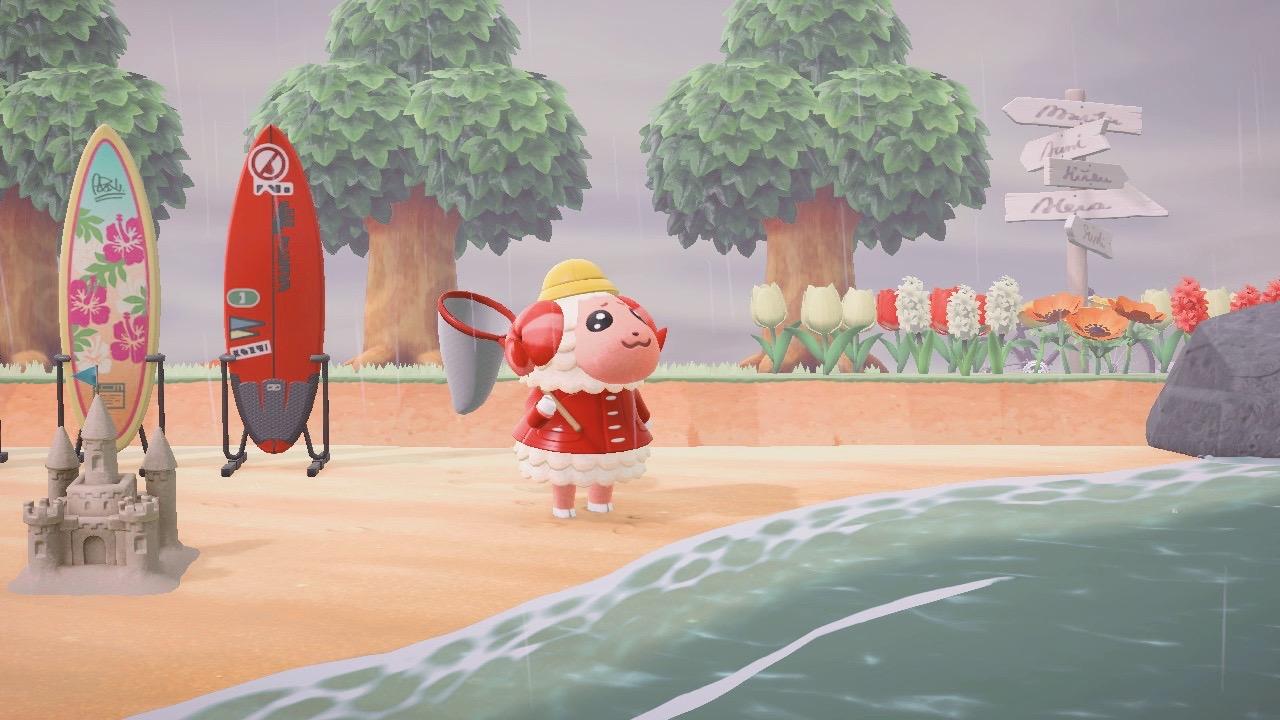Animal Crossing New Horizons Beach idea