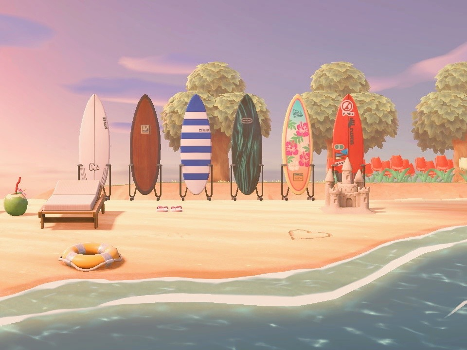 Animal Crossing New Horizons Island Tour Beach