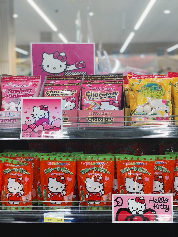 Japanese market Mitsuwa Marketplace in Chicago Hello Kitty
