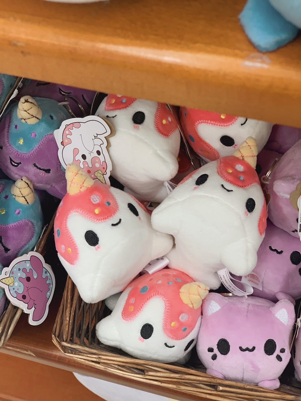 Japanese market Mitsuwa Marketplace in Chicago Narwhal Plushie