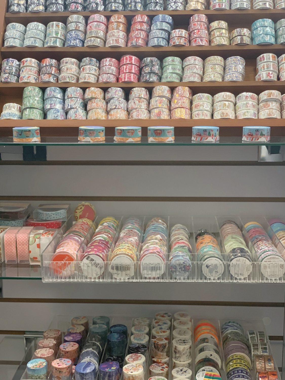 Japanese market Mitsuwa Marketplace in Chicago washi tape
