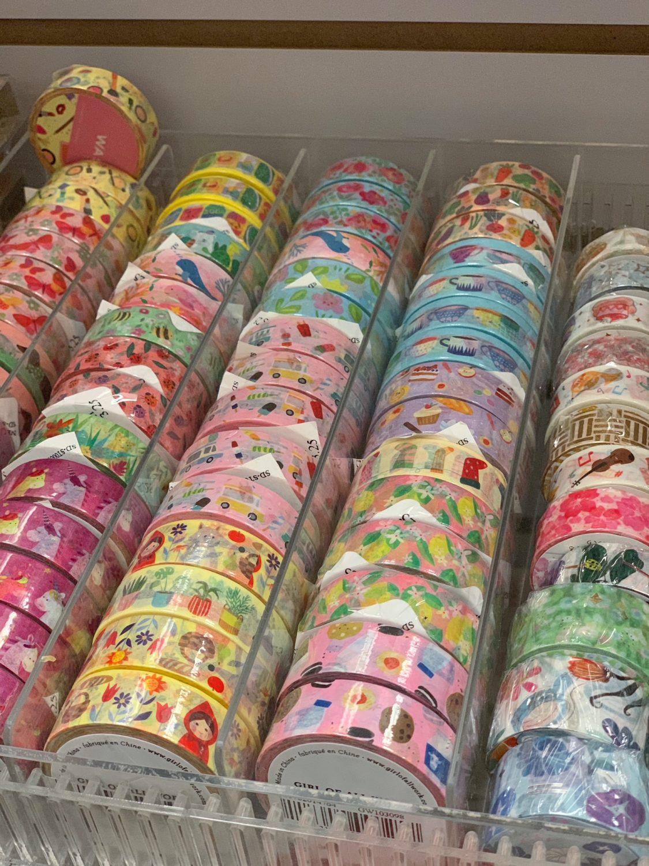 Japanese market Mitsuwa Marketplace in Chicago washi